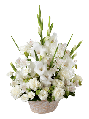 Beautiful Sympathy White Lilies