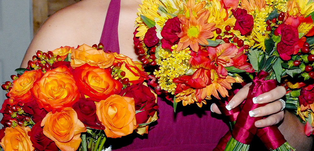 Fall in love with fall wedding flowers blooms today fall wedding bouquet junglespirit