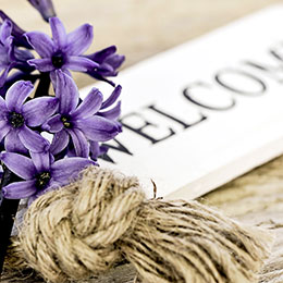 Welcome-Flowers