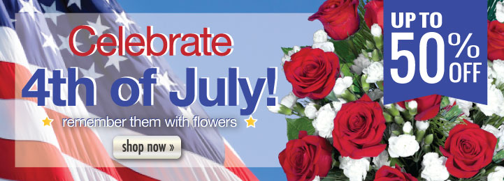 Fourth of July  flowers, plants, and gifts
