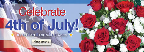 Fourth of July Flowers!